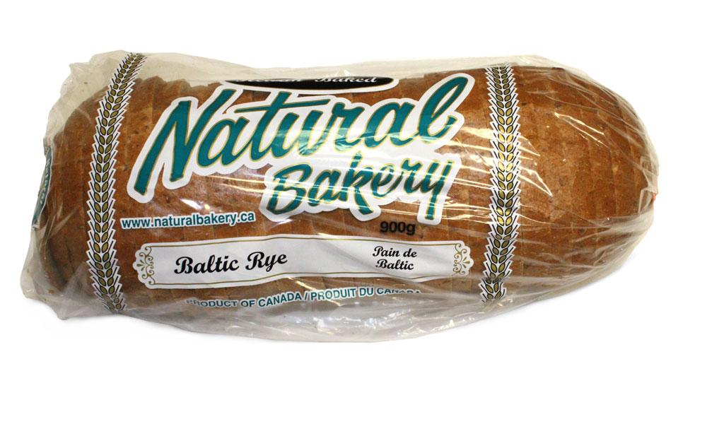900g baltic rye - bagged