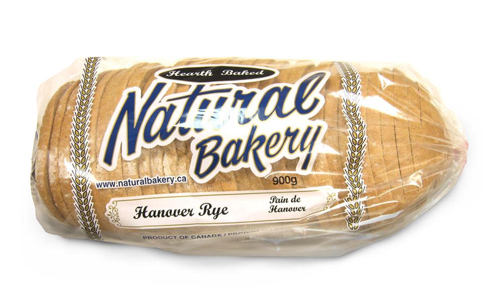 Hanover Rye loaf sliced