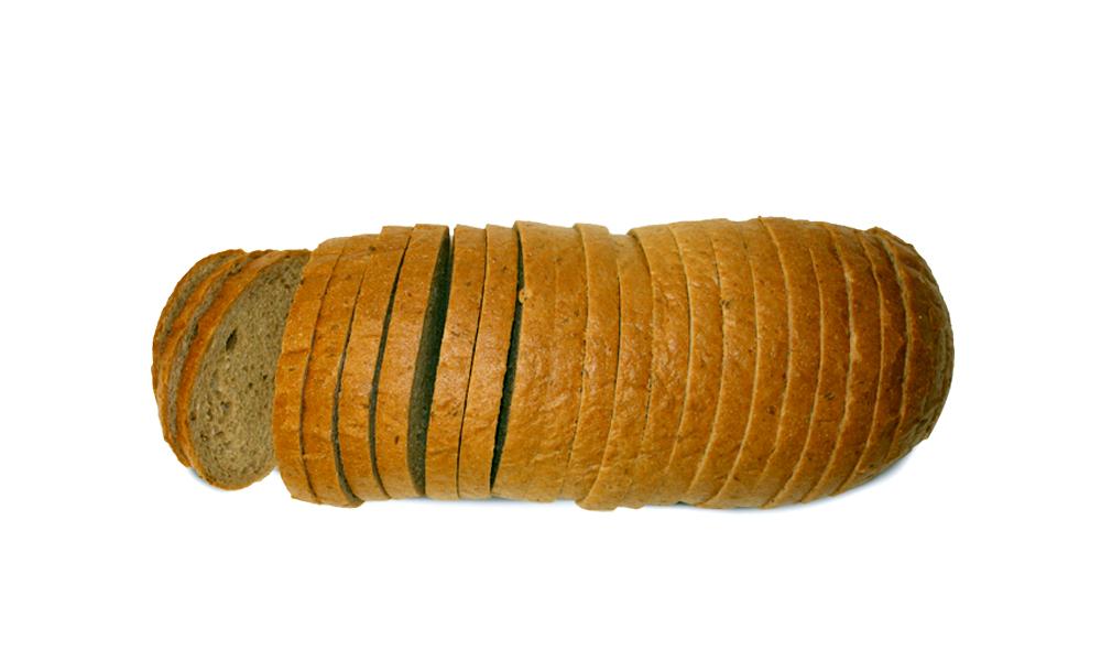 russian rye bread loaf